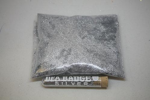 8 oz Bag, DEA Badge Silver