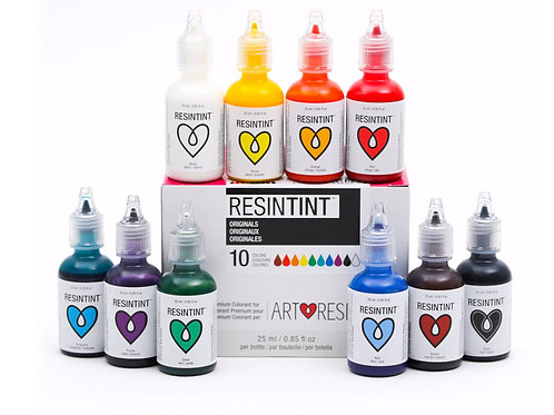 Art Resin Tint - Originals - 10 Colors