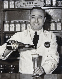 Mr. Nick at his bar