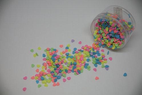 Fake Heart Sprinkles, Mixed (0.5oz)