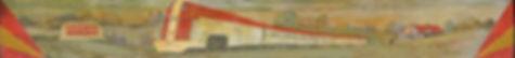 Nick's Original Big Train Bar mural dixie 45