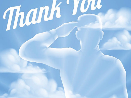 Thank you for your sacrifice