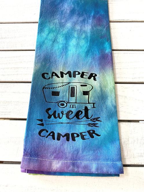 Camper Sweet Camper Tie-Dye