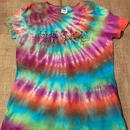 Womens XL Greatful Dead Tie-Dye