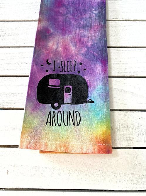I Sleep Around Tie-Dye