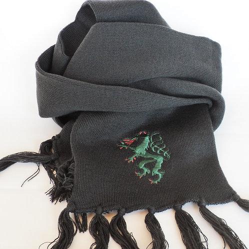 Schal mit Panther Stick