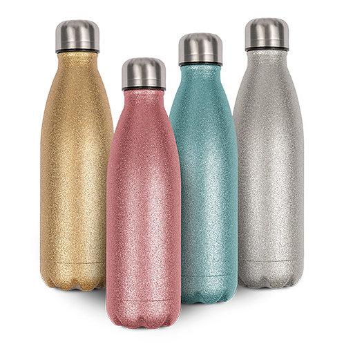Glitzer Thermoflasche