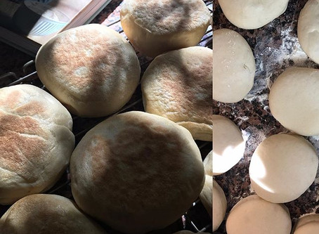 RECETTE ENGLISH MUFFINS