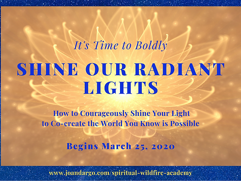 Easy Payment Plan for It's Time to Boldly Shine Our Radiant Lights