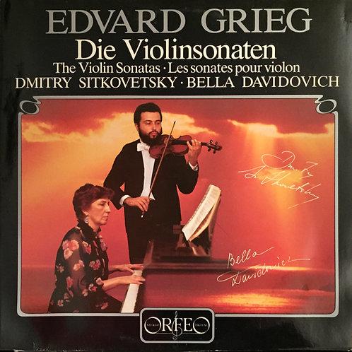 Edvard Grieg, Sitkovetsky, Davidovich – Die Sonaten Für Violine Und Klavier
