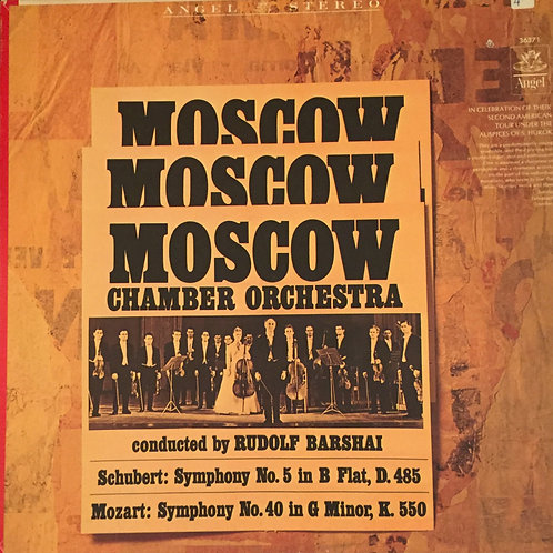 Mozart/Schubert, The Moscow Chamber O, Barshai – Symphony No.40/No.5