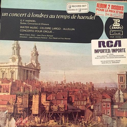 Haendel,  Alain, Rampal, Paillard,... – Un Concert à Londres Au Temps de Haende