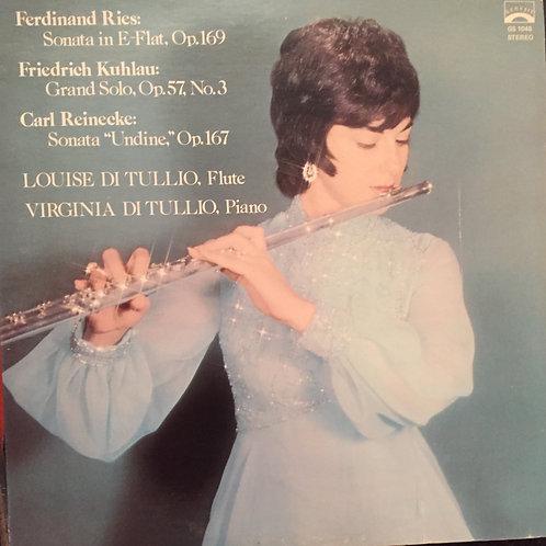 Louise Di Tullio, Virginia Di Tullio – Ries, Kuhlau, Reinecke Works For Flute