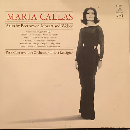 Maria Callas - Arias By Beethoven, Mozart And Weber