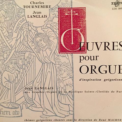 Oeuvres pour orgue d'inspiration grégorienne