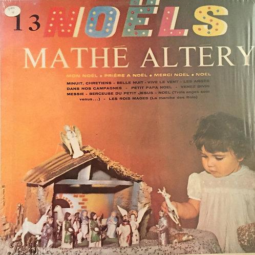 Mathé Altéry – 13 Noëls