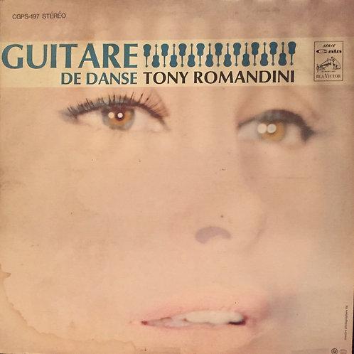 Tony Romandini – Guitare de danse