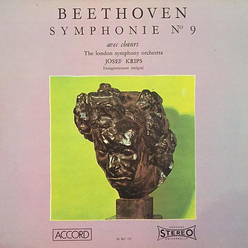 Beethoven / The London SO / Josef Krips – Symphonie N° 9 Avec Choeurs