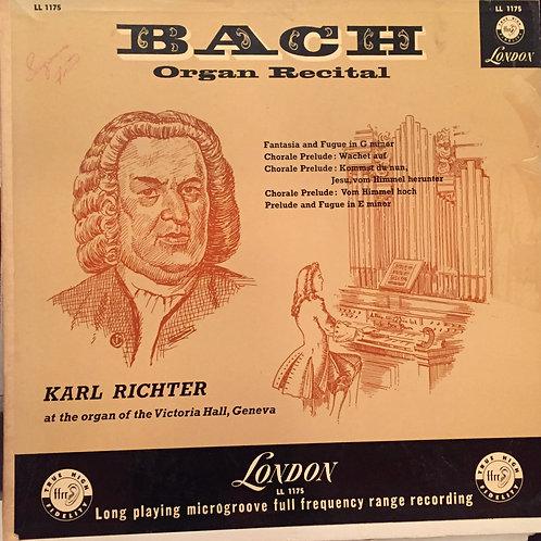Karl Richter – Bach: Organ Recital