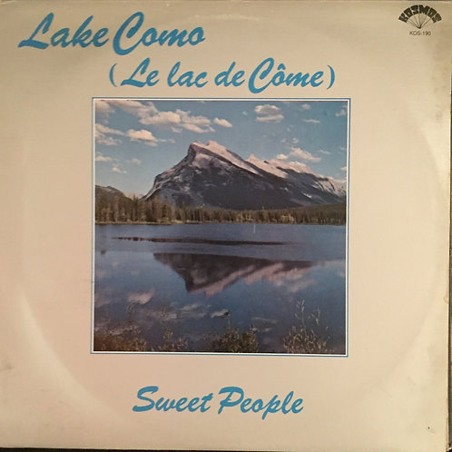 Sweet People ‎– Lake Como (Le Lac De Côme)