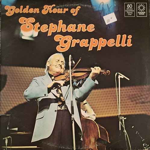 Stephane Grappelli ‎– Golden Hour Of Stephane Grappelli