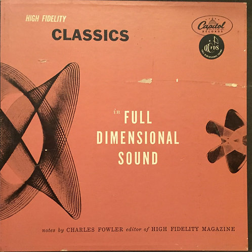Compilation - High Fidelity - Classics In Full Dimensional Sound