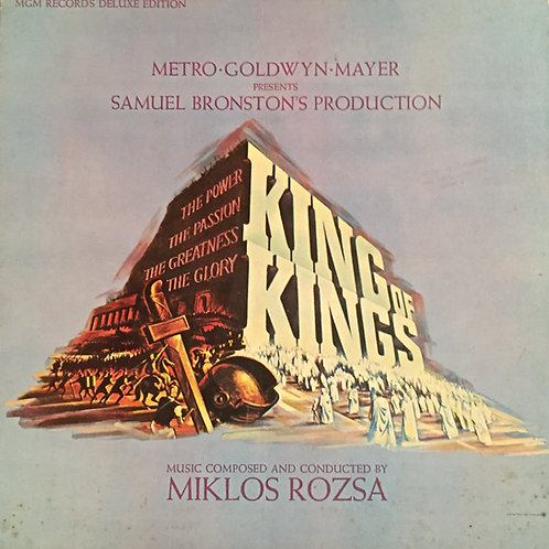 Miklos Rozsa ‎– King Of Kings