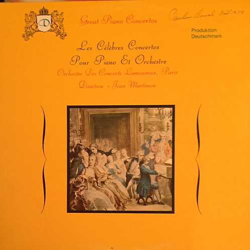 Orchestre des concerts Lamoureux, Jean Martinon - Les célèbres concertos