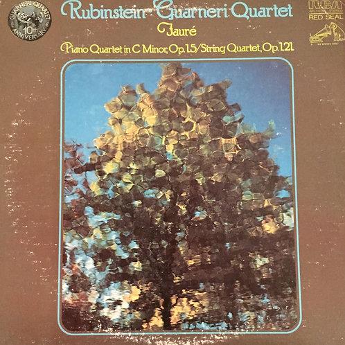 Rubinstein, Guarneri Quartet, Fauré –Piano Quartet In C Minor, Op. 15 / String