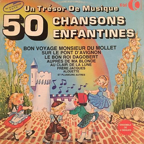 Un Trésor De Musique: 50 Chansons Enfantines