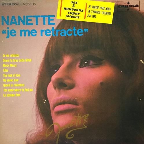 Nanette – Je Me Rétracte