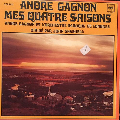 André Gagnon, Orchestre Baroque De Londres, John Snashell – Mes Quatre Saison