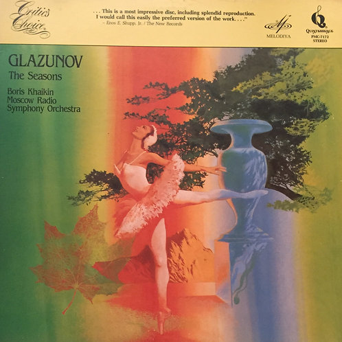 Glazunov, Boris Khaikin, Moscow Radio Symphony Orchestra ‎– The Seasons