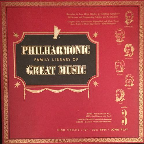 Philharmonic Family Library Of Great Music Album3