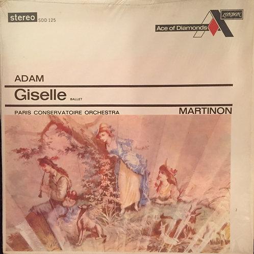 Adam - Martinon, Paris Conservatoire Orchestra – Giselle Ballet