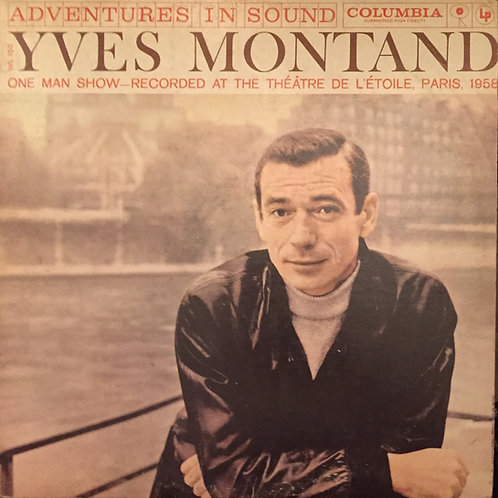 Yves Montand ‎– One Man Show