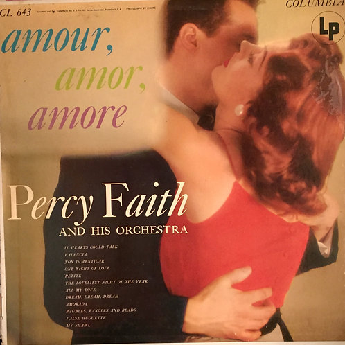 Percy Faith And His Orchestra – Amour, Amor, Amore