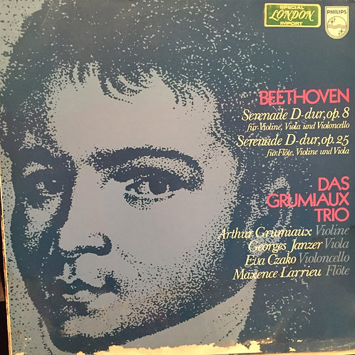 Beethoven, Grumiaux Trio, Eva Czako Serenade In D, Op. 8 For Violon