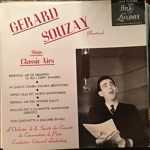 Gerard Souzay Sings Classic Airs