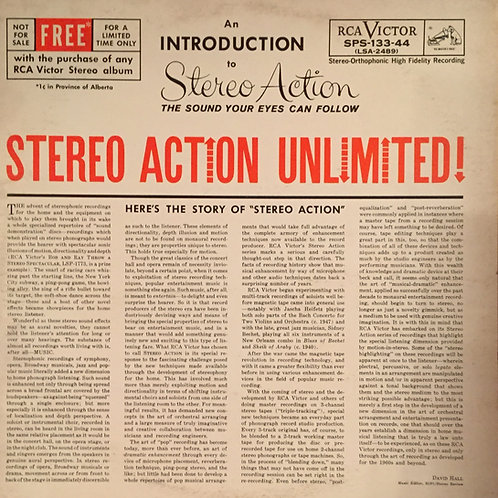 Various – Stereo Action Unlimited!