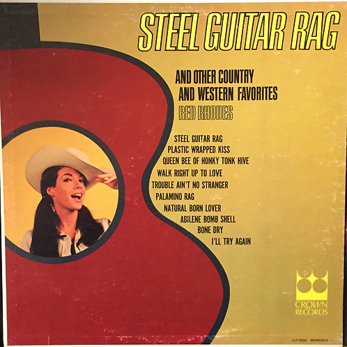 Red Rhodes – Steel Guitar Rag And Other Country And Western Favorites