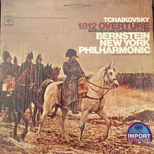 Bernstein Conducts Tchaikovsky 1812 Overture; Marche Slave; Capriccio Italien