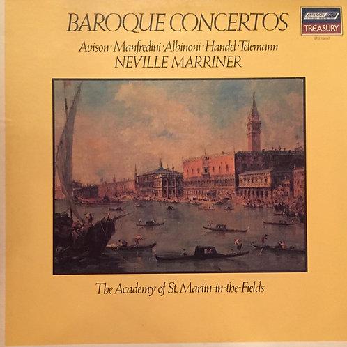 Sir Neville Marriner – Baroque Concertos: Avison, Manfredini, Albinoni, Handel