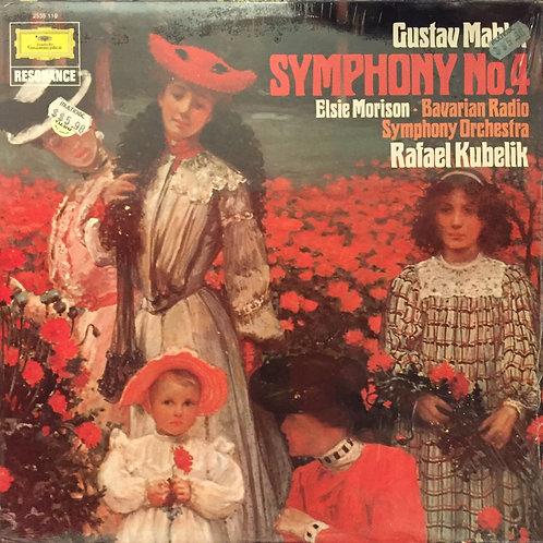 Gustav Mahler, Elsie Morison, Bavarian Radio Symphony, Rafael Kubelik Symphony 4