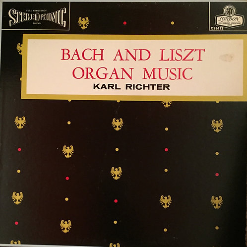 Bach, Liszt, Richter – Bach and Liszt Organ Recital