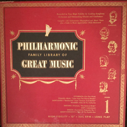 Philharmonic Family Library Of Great Music Album 2