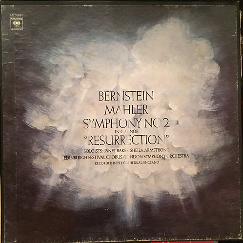 Bernstein, Mahler, Edinburgh Festival Chorus, London Symphony - Symphony No.2
