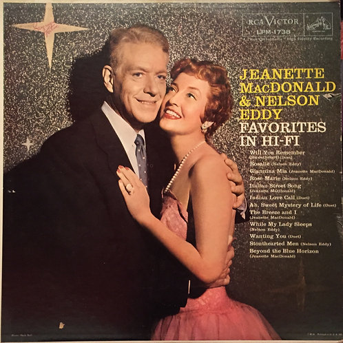 Jeanette MacDonald & Nelson Eddy ‎– Favorites In Hi-Fi