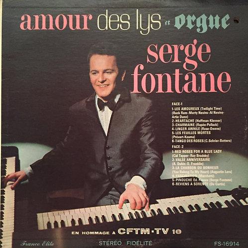 Serge Fontane – Amour Des Lys Et Orgue