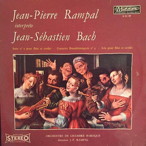 Jean-Pierre Rampal Interprète Jean-Sébastien Bach